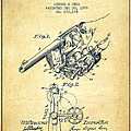 Owen Revolver Patent Drawing From 1899- Vintage by Aged Pixel