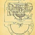 Owens Glass Shaping Machine Patent Art 3 1904 by Ian Monk