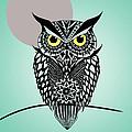 Owl 5 by Mark Ashkenazi