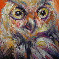 Owl Aceo by Jack No War