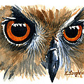 Owl by Karen  Loughridge KLArt