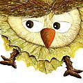 Owl Leaf 3 by Vin Kitayama