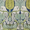 Owls, 1913 by Charles Francis Annesley Voysey