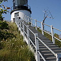 Owls Head Light - Me by Christiane Schulze Art And Photography