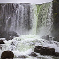 Oxarafoss Waterfall by For Ninety One Days