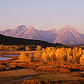 Oxbow Bend Grand Teton National Park Wy by Panoramic Images