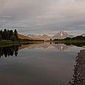 Oxbow Bend Sunrise 3 by Lee Kirchhevel