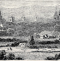 Oxford, From Headington Hill by English School