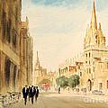 Oxford High Street by Bill Holkham