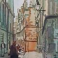 Oxford Lane by Jenny Armitage