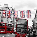 Oxford Street Flags by Matt Malloy