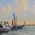 Oyster Boat Evening by Susan Richardson