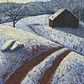 Ozark Winter Barn by Garry McMichael