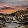 Ozark Mountain Stream by Larry Braun