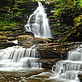 Ozone Falls Close Up by Frozen in Time Fine Art Photography