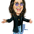 Ozzy Osbourne by Art