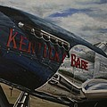 P51 Mustang Kentucky Babe Warbird by Richard John Holden RA