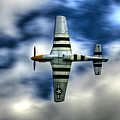 P51d Mustang Ferocious Frankie by Phil 'motography' Clark