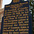 Pa-132 Tomas Garrigue Masaryk 1850-1937 by Jason O Watson