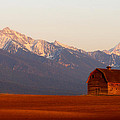 Pablo Barn And Mission Range by Jim Cotton