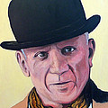 Pablo Picasso by Tom Roderick