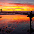 Pacific Beach Was On Fire Tonight by Nathan Rupert