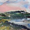 Pacific Coast Evening Sun by Edward Wolverton