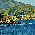 Pacific Coast Panorama by Benjamin Yeager