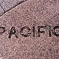 Pacific Concrete Street Sign by Bill Owen