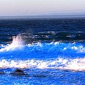 Pacific Grove Surf 19806 by Jerry Sodorff