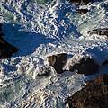Pacific Ocean Against Rocks by Garry Gay