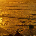 Pacific Ocean Sunset Bandon Beach Oregon by Dave Welling