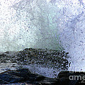 Pacific Ocean Wave Splash by Tap On Photo
