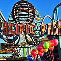 Pacific Park On The Pier by Lynn Bauer
