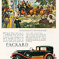 Packard 1930 1930s Usa Cc Cars Horses by The Advertising Archives