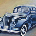 Packard 1940 by Sandra A Haynes
