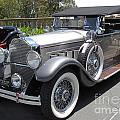 Packard Dietrich Side View by Russell Einhorn