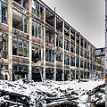 Packard Plant Detroit Michigan - 12 by Paul Cannon