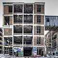 Packard Plant Detroit Michigan - 14 by Paul Cannon