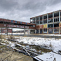 Packard Plant Detroit Michigan - 7 by Paul Cannon