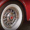 Packard Wheel by Bobbee Rickard