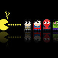 Pacman Superheroes by NicoWriter
