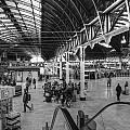 Paddington Station Bw by David French