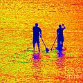 Paddle Board Paradise by Ed Weidman