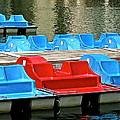 Paddle Boats by Jeff Gater