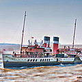 Paddle Steamer Waverley by Steve Purnell