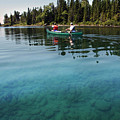 Paddling Clear Waters by John Meader