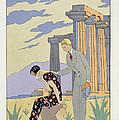 Paestum by Georges Barbier