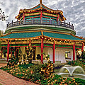 Pagoda In Norfolk Virginia by Jerry Gammon