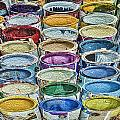 Paint Cans by James Ekstrom